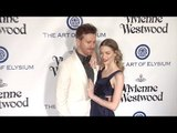 Jaime King & Kyle Newman The Art of Elysium 2016 HEAVEN Gala Red Carpet