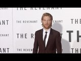"Domhnall Gleeson ""The Revenant"" Premiere Red Carpet in Los Angeles"