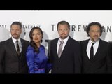 """The Revenant"" Premiere Leonardo DiCaprio, Tom Hardy, Will Poulter, Domhnall Gleeson ARRIVALS"