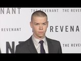 "Will Poulter ""The Revenant"" Premiere Red Carpet in Los Angeles"