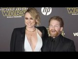 """Clare Grant & Seth Green """"Star Wars The Force Awakens"""" World Premiere"""