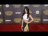 "Emeraude Toubia ""Star Wars The Force Awakens"" World Premiere"
