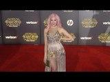 """Bonnie McKee """"Star Wars The Force Awakens"""" World Premiere"""
