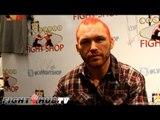 "Chris Leben ""It was frustrating for me the way Derek Brunson fought"" talks UFC 155"