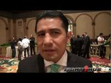 "Marco Antonio Barrera ""Marijuana should be a 6 month suspension"" talks Julio Cesar Chavez Jr."