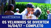 Programa Silvio Santos - 16.04.17 - Os Velhinhos Se Divertem - Completo