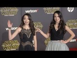 "Merrell Twins ""Star Wars The Force Awakens"" World Premiere"