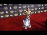"""R2-D2 and C-3PO """"Star Wars The Force Awakens"""" World Premiere"""