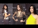 Unforgetable Gala 2015 Chloe Bennet, Kelly Hu, Steven Yeun, Lisa Ling ARRIVALS