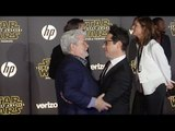 "George Lucas & J.J. Abrams ""Star Wars The Force Awakens"" World Premiere"
