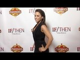 Lacey Chabert IF/THEN Los Angeles Premiere Red Carpet at Hollywood Pantages