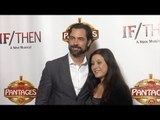Danny Pino IF/THEN Los Angeles Premiere Red Carpet at Hollywood Pantages