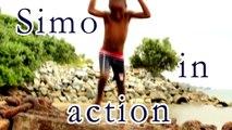 African Boy Jumping, Short Music Video