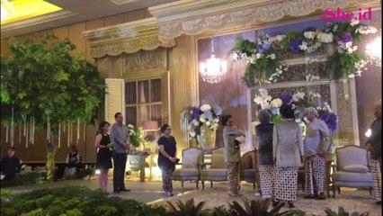 Pernikahan adik Nagita Slavina digelar tertutup