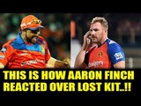 IPL 10: Aaron Finch reacted after getting dropped for not having kit vs MI   Oneindia News