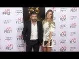 "Antonio Banderas & Nicole Kimpel Red Carpet Style ""The 33"" Gala Screening AFI Fest 2015"