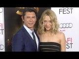 "Lou Diamond Phillips & Yvonne Boismier Red Carpet Style ""The 33"" Gala Screening AFI Fest 2015"