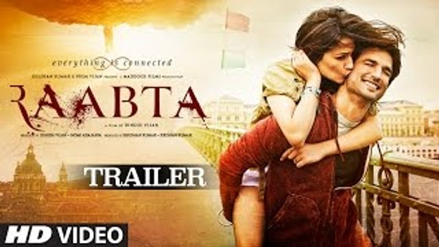 Raabta Official Trailer -  Sushant Singh Rajput & Kriti Sanon