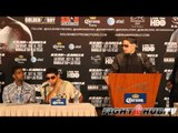 Amir Khan vs Danny Garcia Post Fight Press Conference: Danny Garcia Speaks (HD)