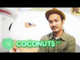 Bangkok street artist Alex Face's ALIVE exhibition | Coconuts TV