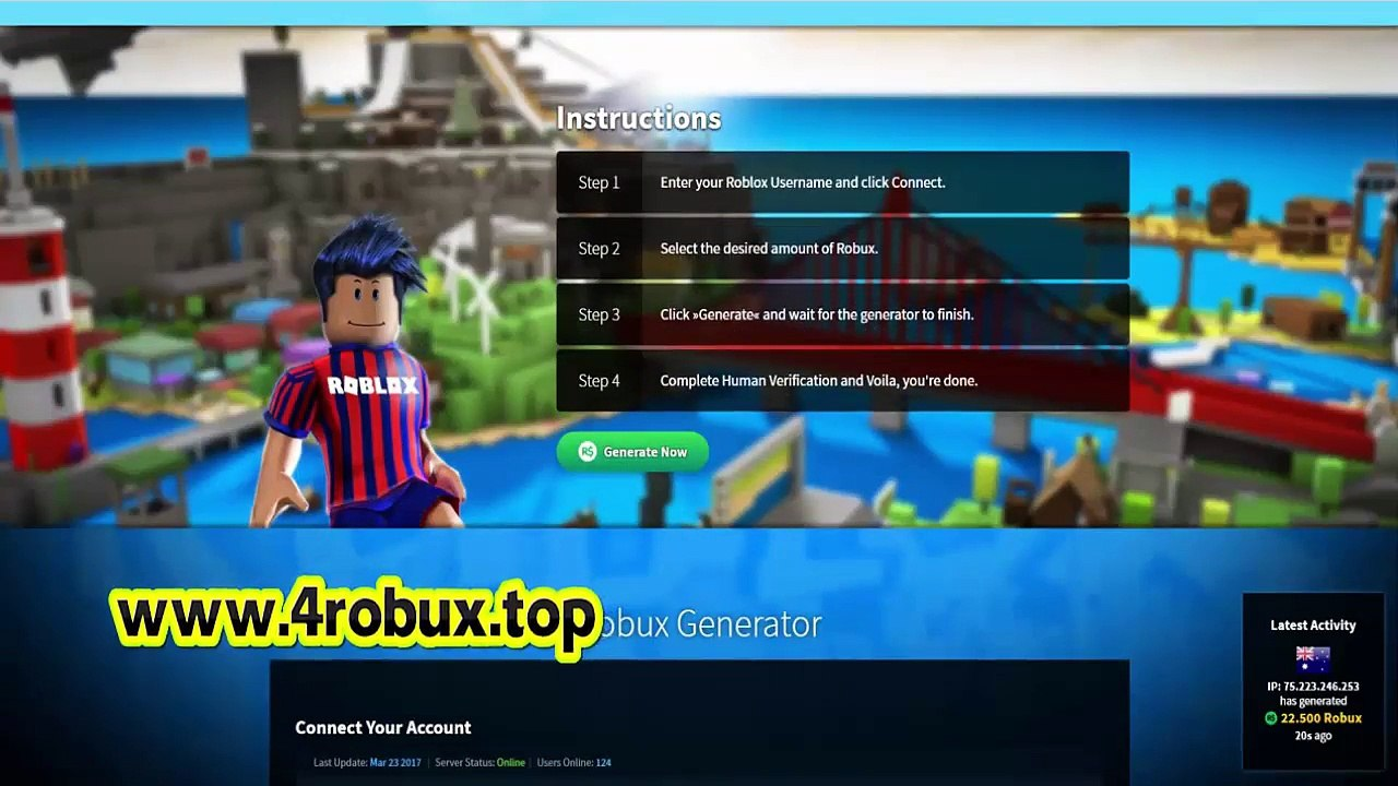 Free Robux No Human Verification Video Dailymotion