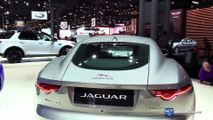 Auto show - 2018 Jaguar F-Type R Dynamic - Exterior and Interior Walkaround - Debut at 2017 New York Auto Show