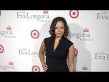 Judy Reyes arrives at Eva Longoria Foundation Dinner 2015 Red Carpet