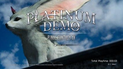 Tsekataan ulos PLATINUM DEMO Final Fantasy XV - MadFinnTech Pelaa Series