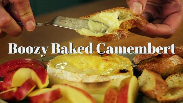 Boozy Baked Camembert - Liquor.com