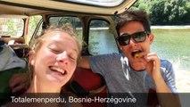 Un jeune couple Lyonnais effectue  un tour du monde en 2 ans en visitant plus de 15 pays et partage leur périple dans une vidéo très sympa