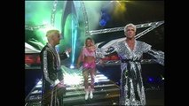 Randy Savage & Madusa With Miss Madness, Gorgeous George vs Ric Flair & Charles Robinson Nitro 05.17.1999