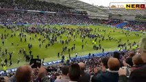 Brighton and Hove Albion promoted to Premier League [Fans Party!]