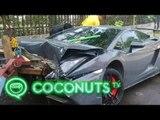 Indonesia Lamborghini Crash: Rich kid says he'll sue anyone who talks bad about him | Coconuts TV