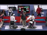 Wheelchair Fencing - HKG vs ITA - Men's Team Cat. Open - Brz Mdl - London 2012 Paralympic Games