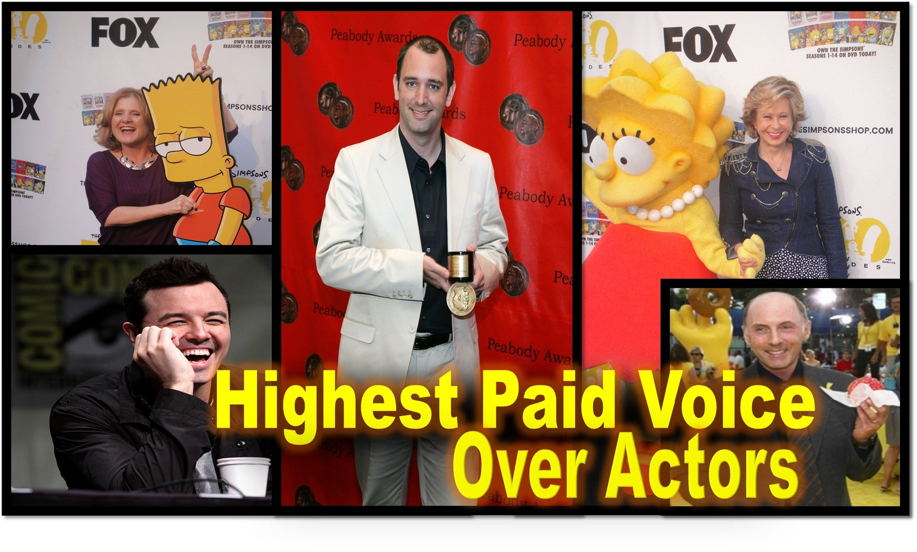 Highest Paid Voice Over Actors in the World