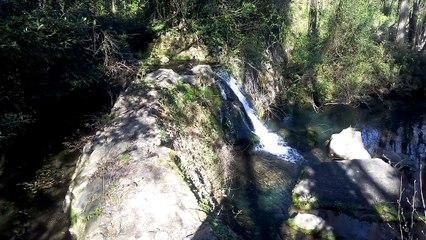 Cascade sur le ruisseau d'Aurelle, près de Bagard (Gard) 19-03-2017