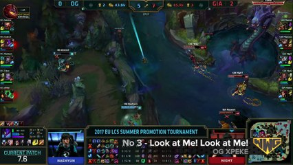WWG's Top 5 League of Legends Moments - April 17, 2017