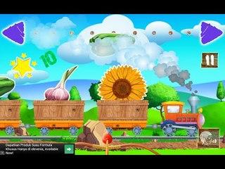 Kids Train Games - Kereta bayi cerdas Game Play