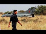 MiG-21 fighter jet crash landed at Srinagar Airport, pilot ejects safely   Oneindia News