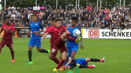[RESUME] FINALE NATIONS - FRANCE / PORTUGAL - LUNDI 17 AVRIL 2017 - Mondial Football Montaigu