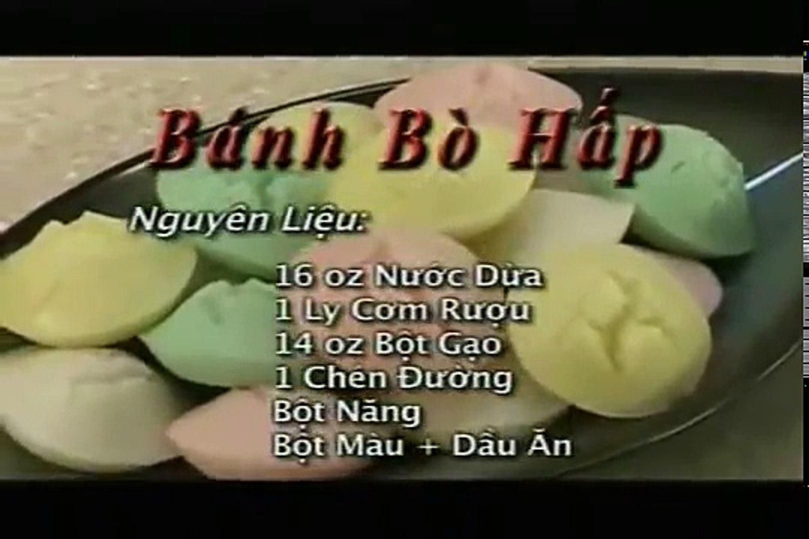 Banh Bo Hap Uyen Thy S Cooking Video Dailymotion