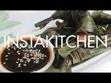 Chicken in Pandan Leaves (Gai Hor Bai Toey) | Instakitchen Bangkok E12 | Coconuts TV