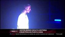 JUSTIN BIEBER DESATA HISTERIA COLECTIVA EN PUNTA CANA