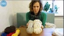 Crochet string rug