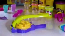 [Padu] Play Doh Ice Cream Sdsadsawirl Shop Surprise Eggs Toys Spongebob - Play Doh Ice Cream Playdoug