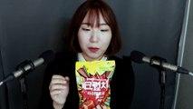 [Eating ASMR] Crunch Marshmallow Eating Sounds [직접먹는 ASMR] 바삭!말캉!쫄깃! 크런치 마시멜로우 토킹 노토킹 레이어드 3가지 버젼