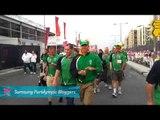 IPC Blogger - Ireland entering the Paralympic Closing Ceremony, Paralympics 2012