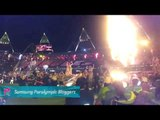 Michelle Stilwell - Paralympics Closing Ceremony opening act is Coldplay!, Paralympics 2012
