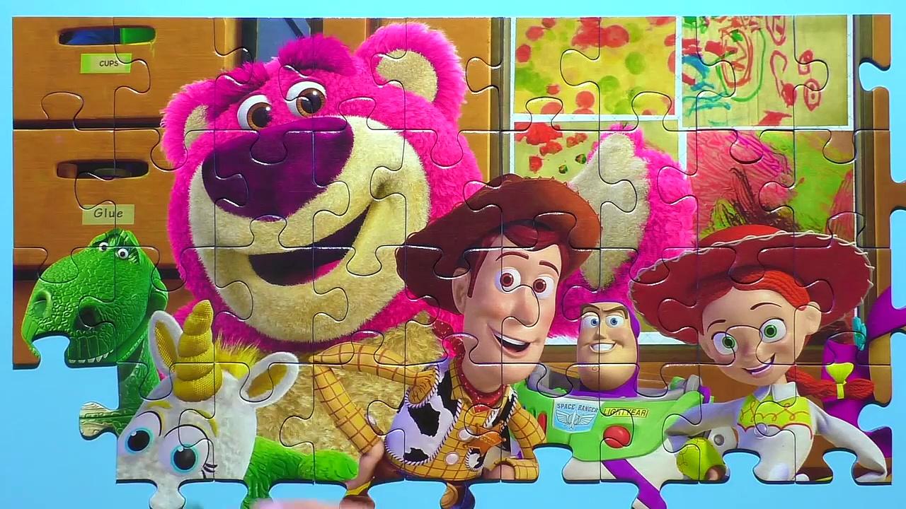 Learn Puzzle TOY STORY Potato Head, WooASasdy, Buzz