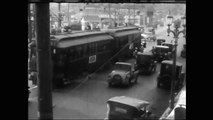 Busy Intersections in the 1920s, '40s, and '50s-tu0